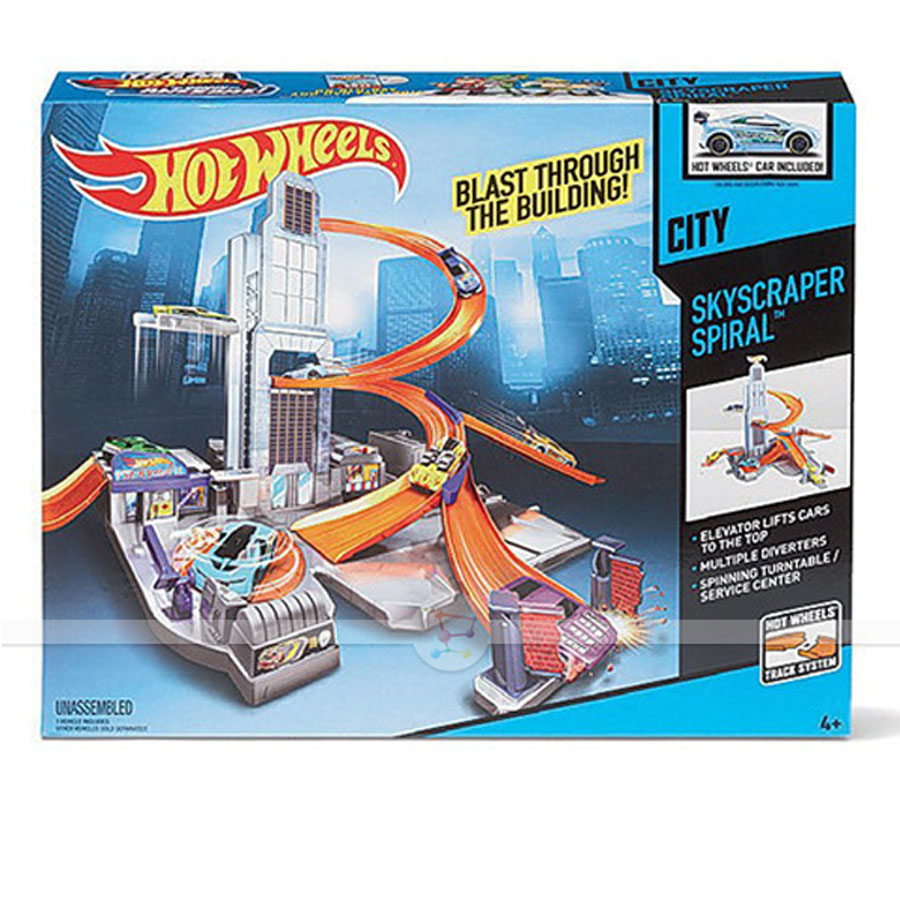 Трек Hot Wheels Небоскреб BHR00