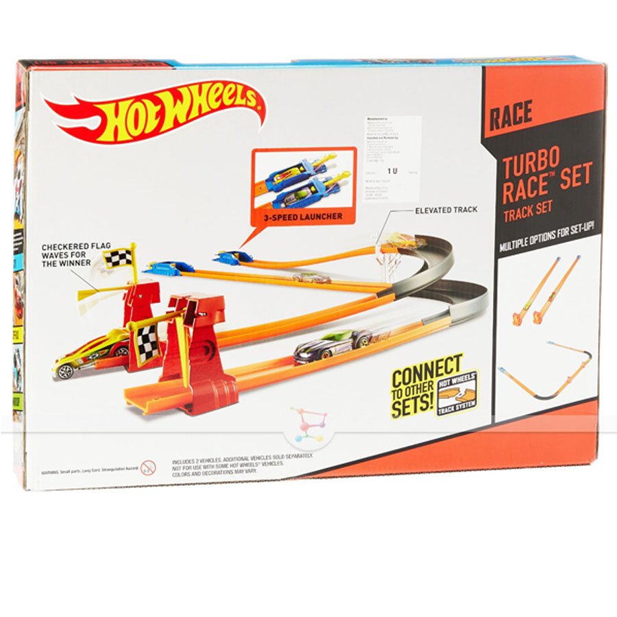 Трек Hot Wheels Турбо гонки купить