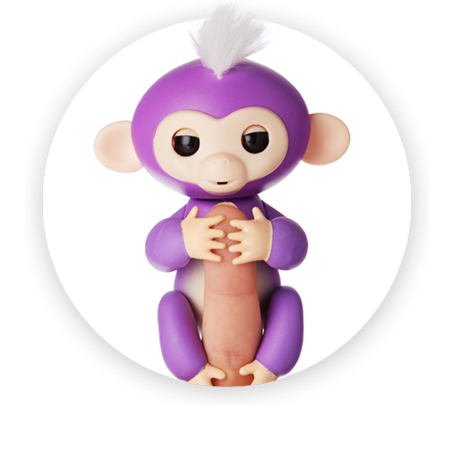 Fingerlings interactive baby monkey Mia