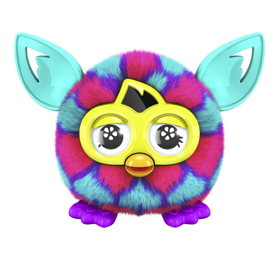 Furby Furbling Creature Pink and Blue Hearts (Розовые и синие сердца)
