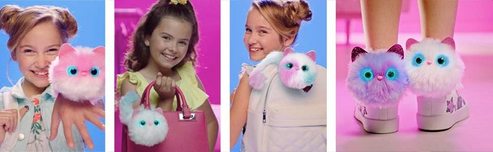 Pomsies купить Помси котенок Pinky игрушка интерактивная Original Киев