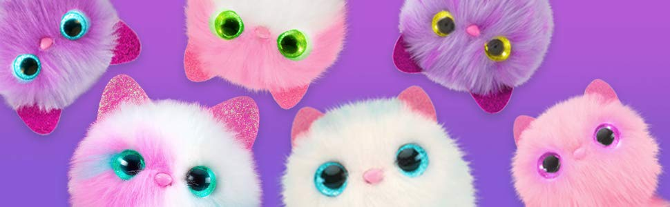 Pomsies Помсис интерактивная игрушка котенок