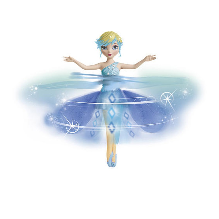 Flying Fairy-Deluxe Light Up Flutterbye Fairy-Snowflake