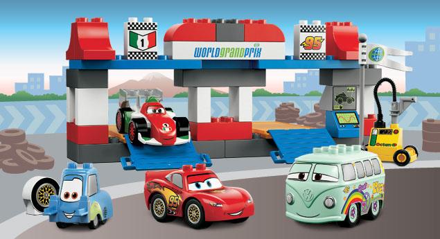 Lego железная дорога