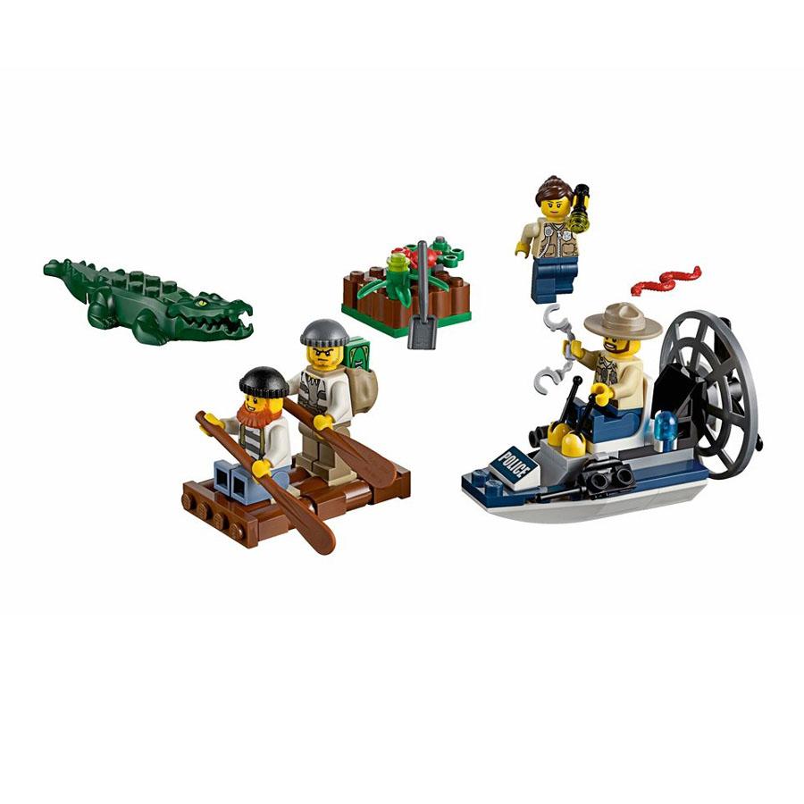 Болотная полиция стартовый набор Лего Сити купить
