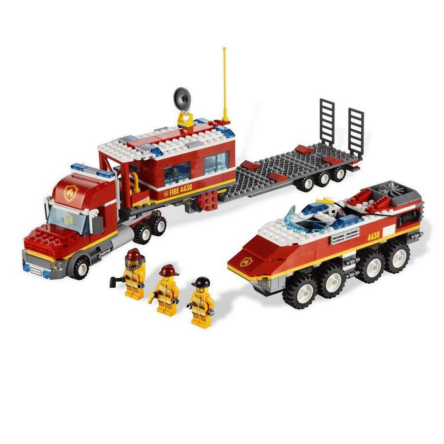 Пожарный транспортер Лего Сити Пожарные купить