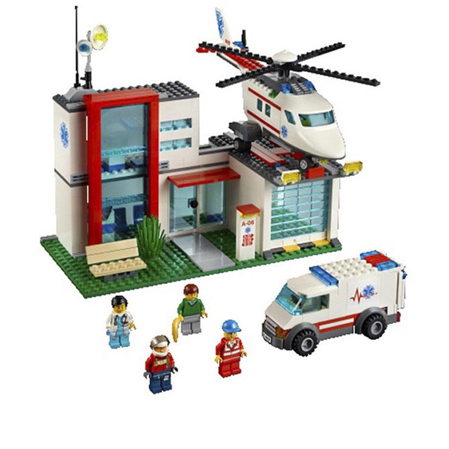Спасательный вертолёт Лего Сити Скорая помощь купить