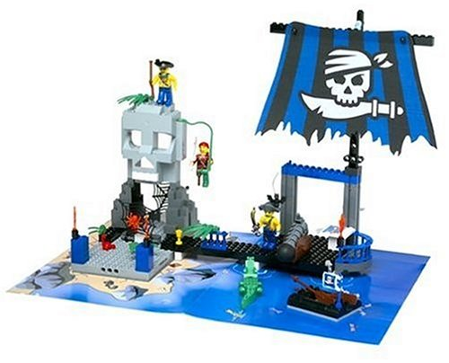конструктор Лего Пираты Карибского моря и Бегство от диких каннибалов