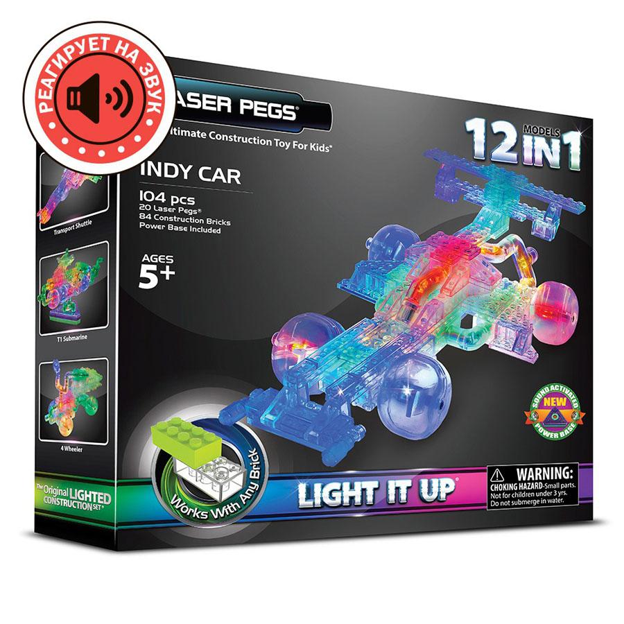 Laser Pegs автомобиль, набор (12 в 1)