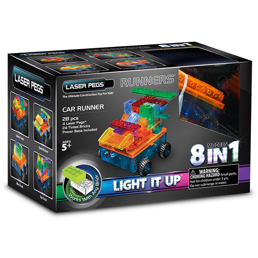 Laser Pegs автомобиль, набор (8 в 1)