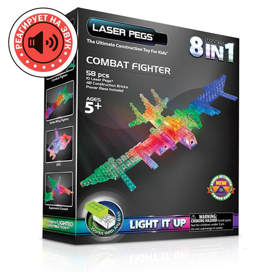 Laser Pegs боевой истребитель, набор (8 в 1)