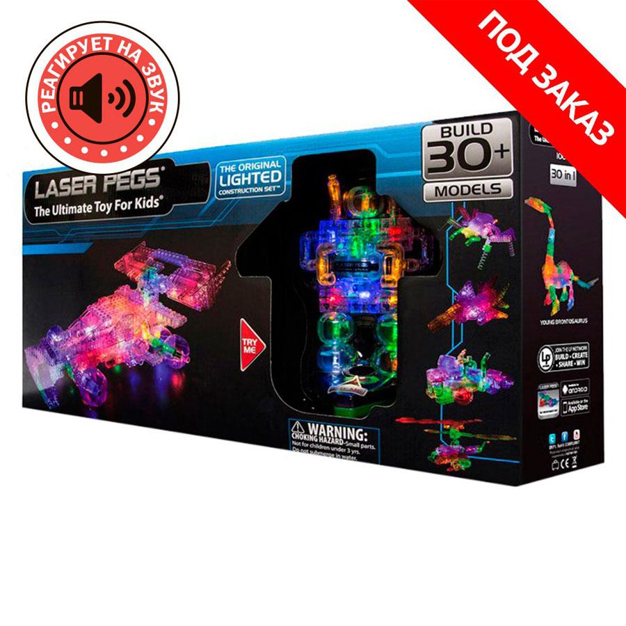 Laser Pegs Болид Гран-При , набор (30 в 1)