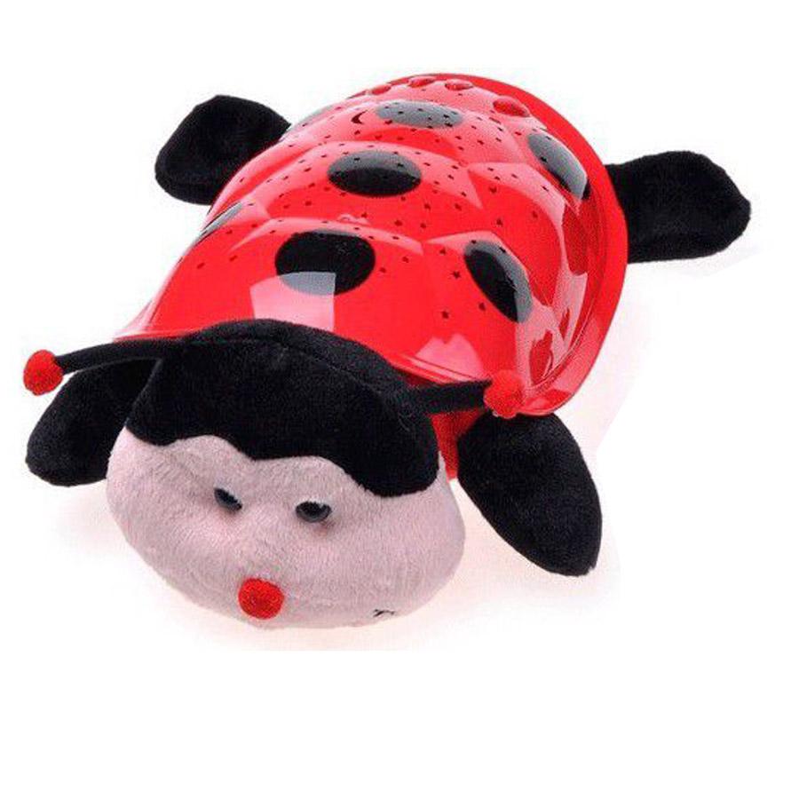 Детский ночник-проектор Божья коровка купить